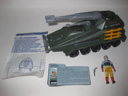 Persuader (1987) w/ Inst, Driver, Card - G.I. Joe